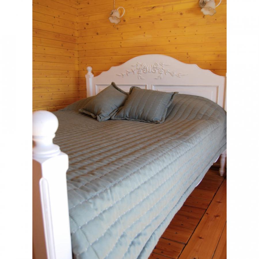 """Покрывало канвас """"Скандинавия"""" с двумя подушками"""