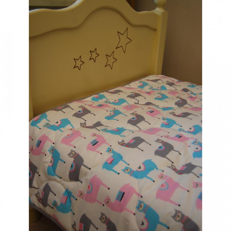 """Детское покрывало-одеяло """"Ламы"""""""