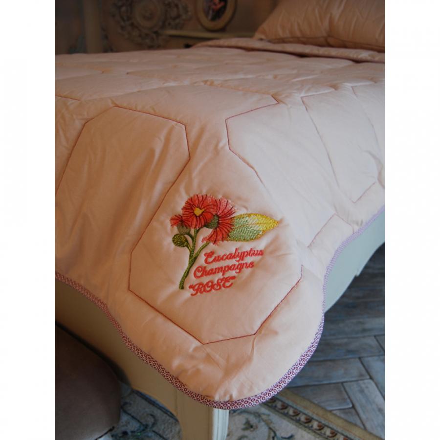 Одеяло стеганое перкаль эвкалипт