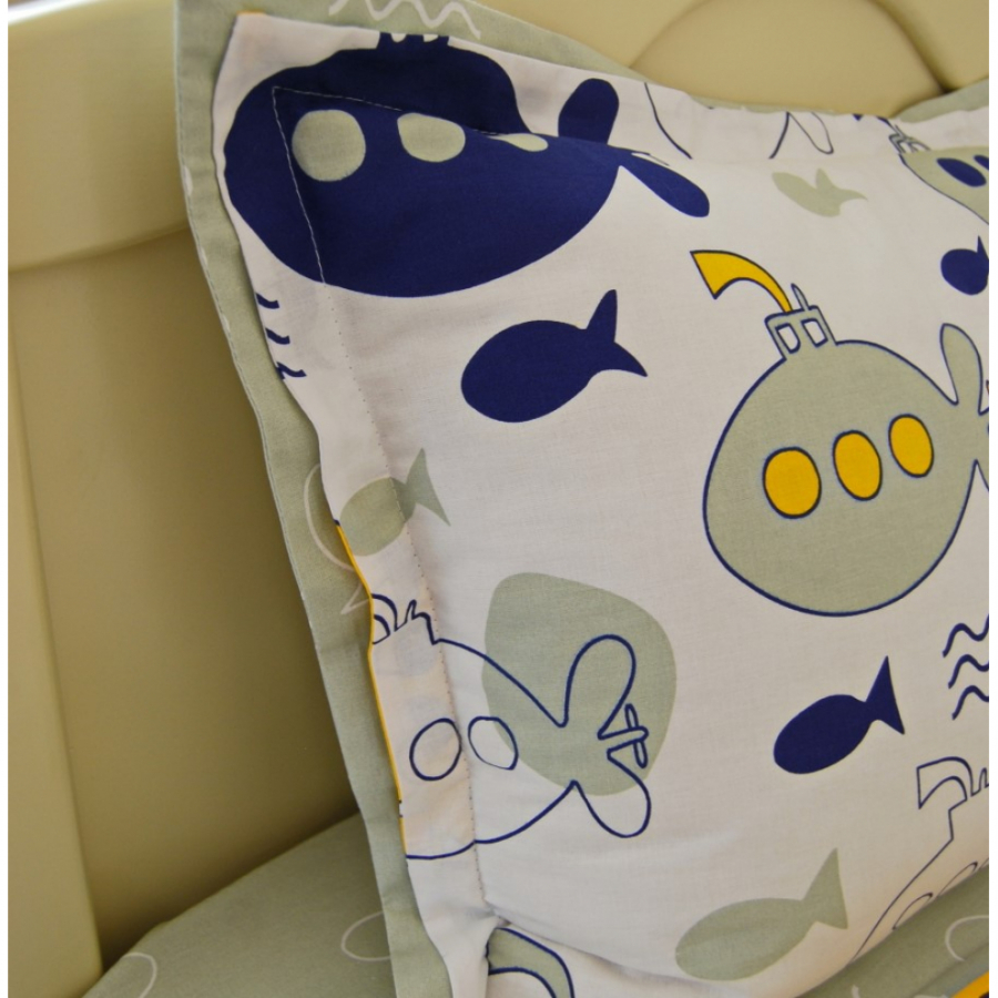 Комплект постельного белья 160*80  «Подводное плавание»