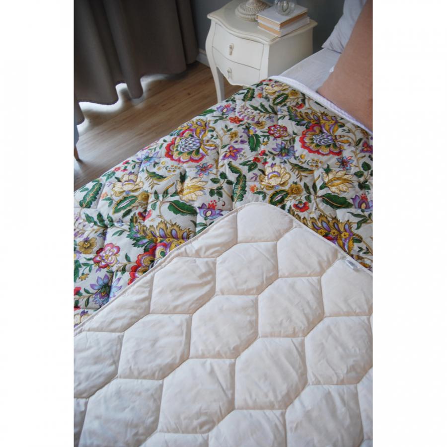 """Одеяло-покрывало,  двухстороннее """"Роскошь"""" бязь"""