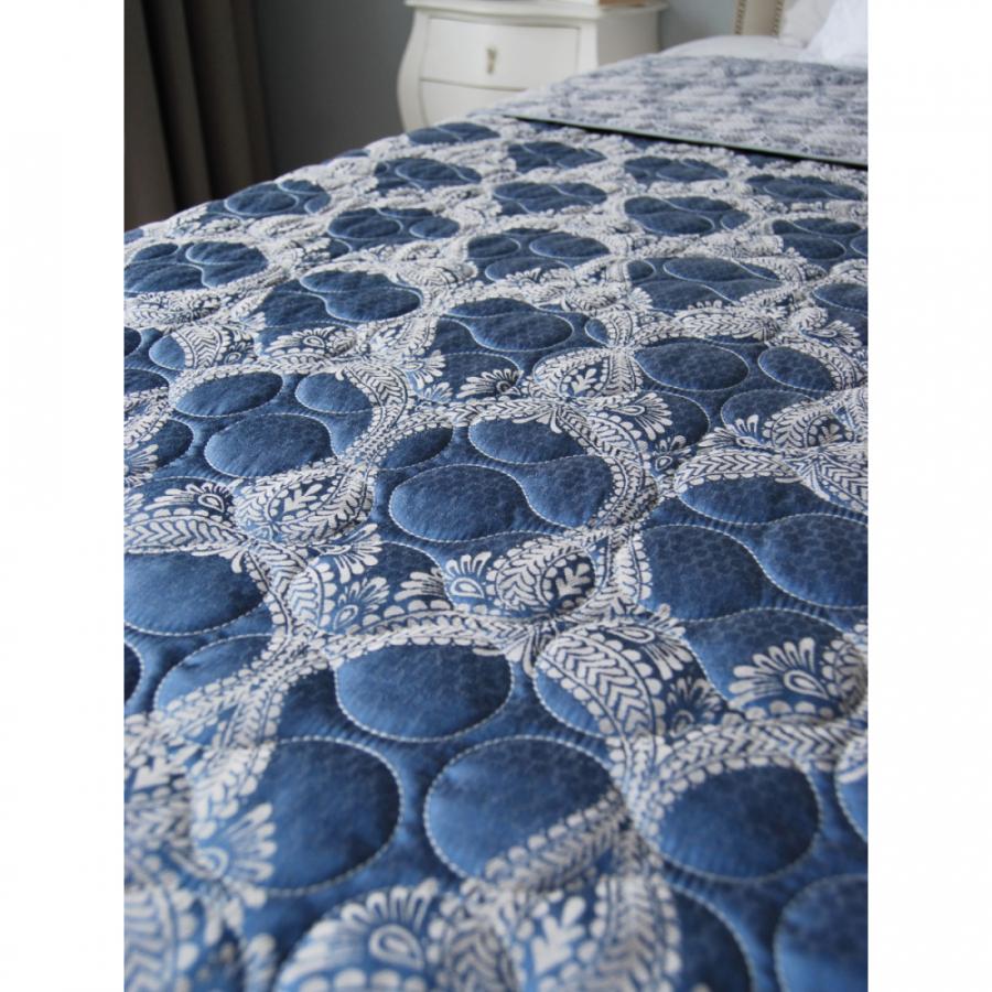 Одеяло-покрывало жаккард, двухстороннее,  гобеленовое