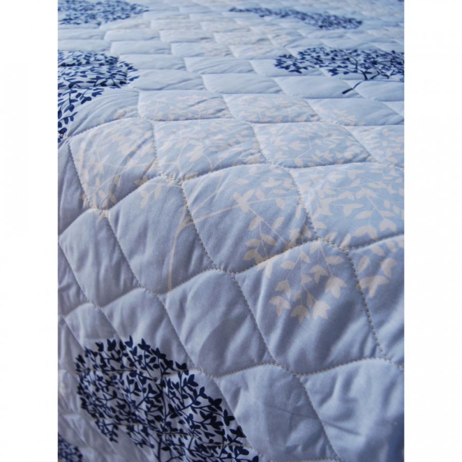 """Одеяло-покрывало,  двухстороннее """"Деревья"""" перкаль"""